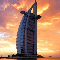 Burj Al Arab Hotel ***** Dubai (Emirates járattal)