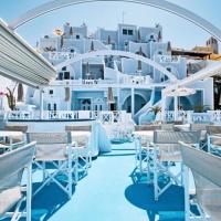 Kafieris Blue Suites **** Santorini, Firostefani (bécsi indulással)