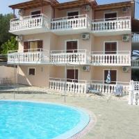 Panorama Apartmanház - Korfu, Moraitika Busszal