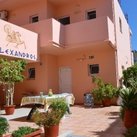 Alexandros Apartmanház - Nyugat-Kréta, Agia Marina