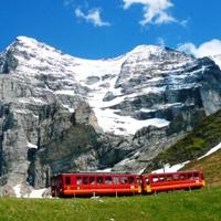 Jungfraujoch és a Rajna-vízesés
