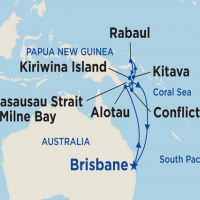 Pápua Új-Guinea - exluzív kiscsoportos  Repülős hajóút Magyar idegenvezetővel! Sea Princess