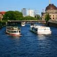 Berlin - Speer folyó - hajókázás