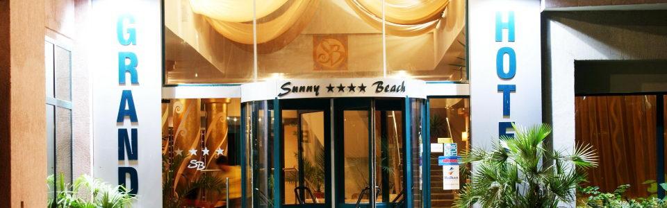 Tengerparti Utazás: Grand Hotel Sunny Beach **** Napospart