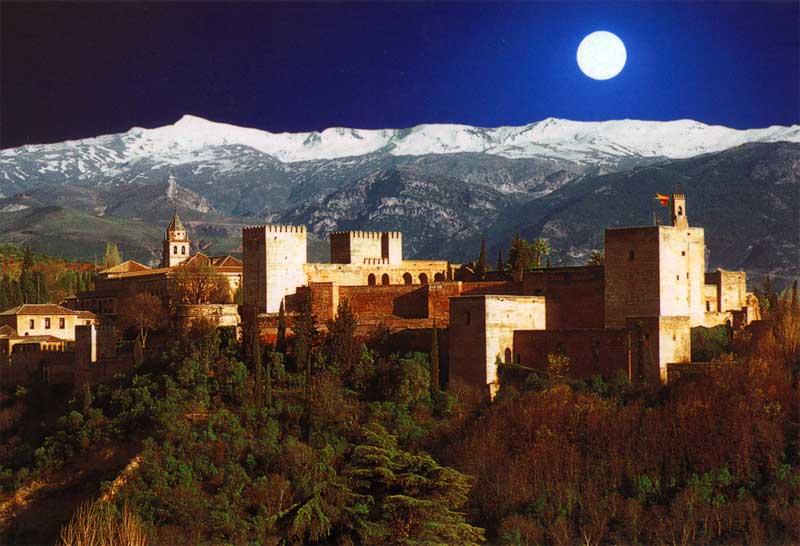 Vacanza, Alhambra, Granada Spagna