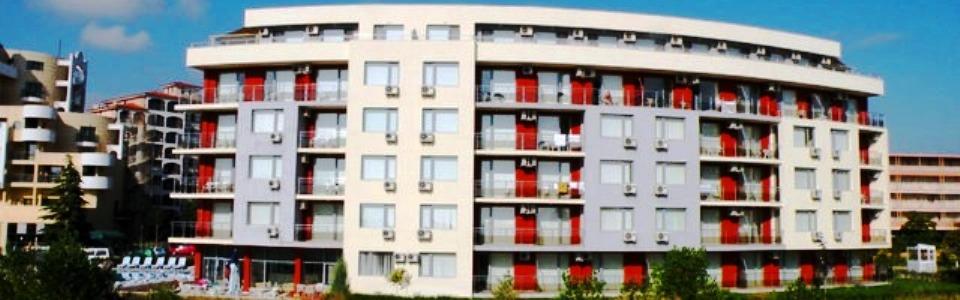 Utazás Bulgáriába: Aparthotel Ruby **** Napospart