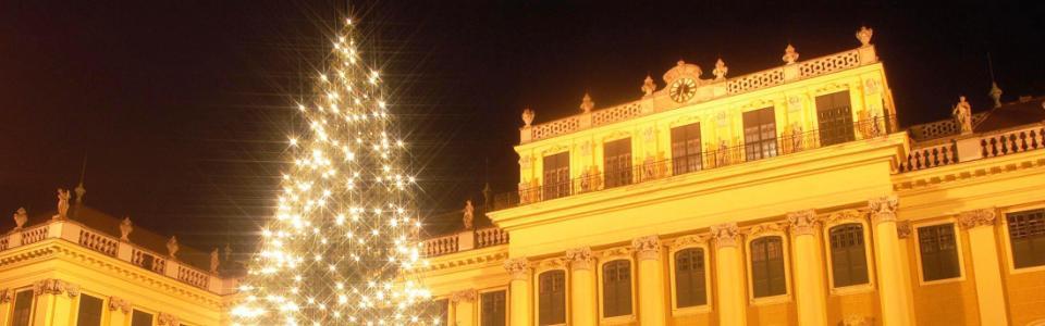 Advent Bécsben - Schönbrunnban