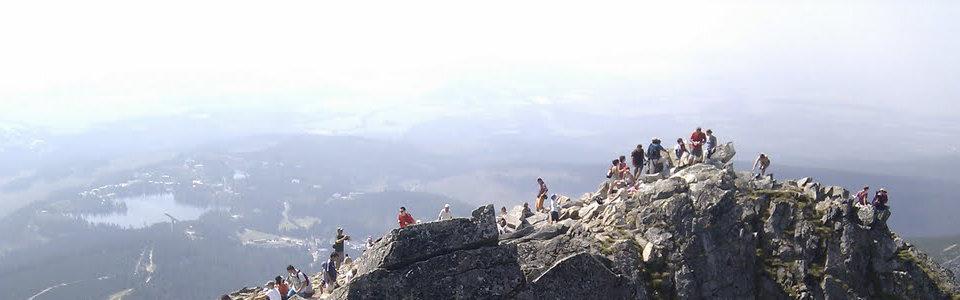 Magas-Tátra gyalogtúra: Elülső-Szoliszkó csúcs 2117 méter
