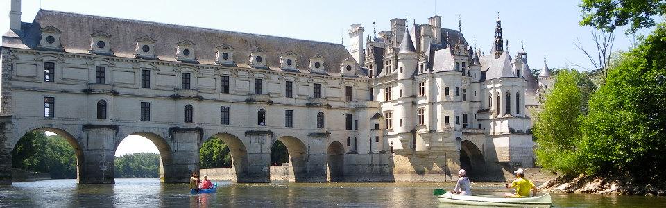 A Loire völgyi kenutúra