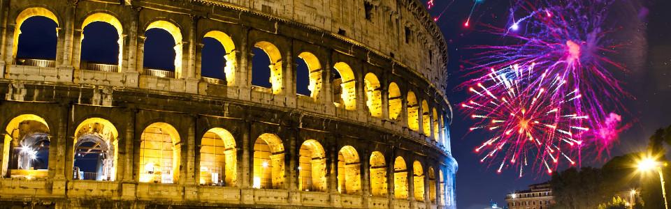 Szilveszter Rómában