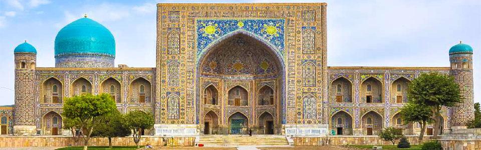 Türkmenisztán - Üzbegisztán körutazás